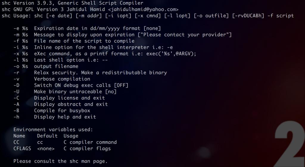Linux Convertir Un Script En Binaire Executable Djerfy Com