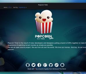 [ P2P ] PopCornTime en version Online !